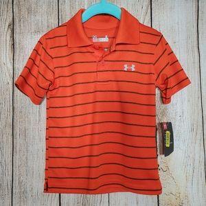 NWT Boys 2T Under Armour Polo Golf Shirt